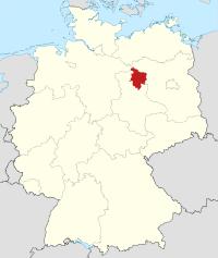 Lage von Stendal in Deutschland