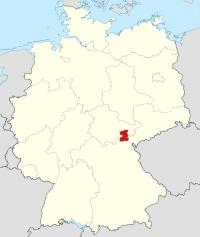 Lage von Saale-Orla-Kreis in Deutschland