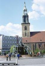 Berlin - Marienkirche 1973