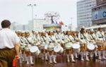 Die Weltfestspiele 1973 in Ostberlin auf dem Alexanderplatz