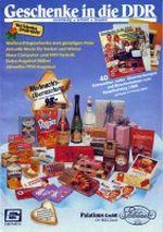 GENEX Geschenke in die DDR Zusatzkatalog 1988 Seite 1