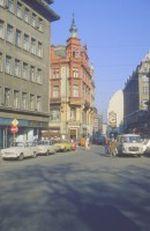 Leipziger Straßenansicht zu Wende