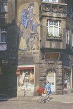 Greiz Burgstrasse Mosaik